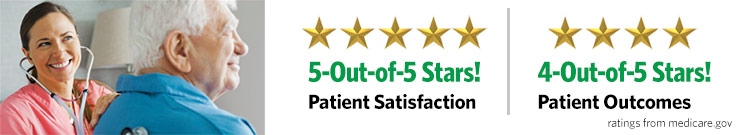 newsome home health 5 out of 5 star medicare rating